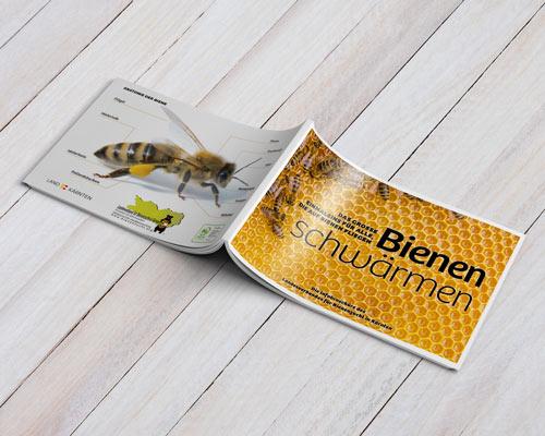 Bienen-schwärmen Broschüre